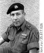 Israel Tal, 1924 – 2010. Israel Defence Forces (IDF) general. Редакционное фото, агентство World History Archive / Фотобанк Лори
