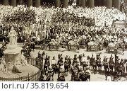 Photograph from Queen Victoria's Diamond Jubilee. Редакционное фото, агентство World History Archive / Фотобанк Лори