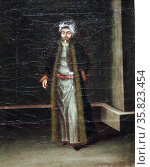 Costume Paintings by Jean Baptiste Vanmour 1711 A.D. Редакционное фото, агентство World History Archive / Фотобанк Лори