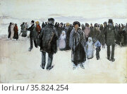 Vincent Van Gogh 'On the state of Schveningen'. Редакционное фото, агентство World History Archive / Фотобанк Лори