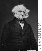 Martin Van Buren (December 5, 1782 – July 24, 1862) was the eighth President of the United States (1837–1841). Редакционное фото, агентство World History Archive / Фотобанк Лори