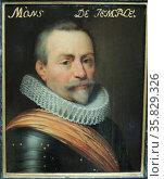 Portrait of Ambrogio, (1569-1630) marquess de Spinola.. Part of the Leeuwarden series. Редакционное фото, агентство World History Archive / Фотобанк Лори