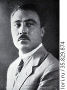 Mr Roberto Farinacci, Secretary of the National Fascist Party from 12 February 1925-30 March 1926 (2013 год). Редакционное фото, агентство World History Archive / Фотобанк Лори