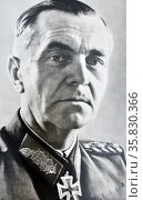 Friedrich Wilhelm Ernst Paulus (23 September 1890 – 1 February 1957) was an officer in the German military from 1910 to 1945. Редакционное фото, агентство World History Archive / Фотобанк Лори