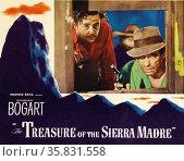 The Treasure of the Sierra Madre' a 1948 American dramatic adventure film starring Humphrey Bogart. Редакционное фото, агентство World History Archive / Фотобанк Лори