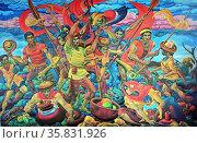 Vicente V. Reyes, Katipunan, 1992, Oil on canvas. Редакционное фото, агентство World History Archive / Фотобанк Лори