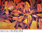 Edwin Wilwayco, Bird of Paradise / No 59, 1994. Oil on canvas. Редакционное фото, агентство World History Archive / Фотобанк Лори