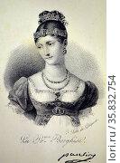 Maria-Pauline Borghese (born Bonaparte) Редакционное фото, агентство World History Archive / Фотобанк Лори