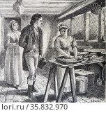 Hetty Sorrel by Basil Bradley. Редакционное фото, агентство World History Archive / Фотобанк Лори