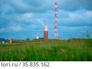 Helgoland Leuchturm. Стоковое фото, фотограф Zoonar.com/Marlene Cleven / age Fotostock / Фотобанк Лори