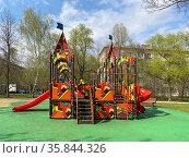"""Детская площадка """"Кремль"""", Москва. Редакционное фото, фотограф Мария Кылосова / Фотобанк Лори"""