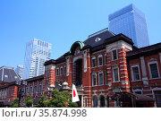 Tokyo station. Стоковое фото, агентство Ingram Publishing / Фотобанк Лори