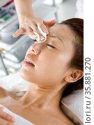 Facial Aesthetics. Стоковое фото, агентство Ingram Publishing / Фотобанк Лори