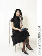 Female studio shoot. Стоковое фото, агентство Ingram Publishing / Фотобанк Лори