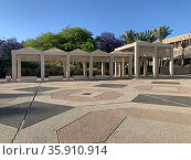 Campus of Ben Gurion University in Beer Sheva. Редакционное фото, фотограф Irina Opachevsky / Фотобанк Лори