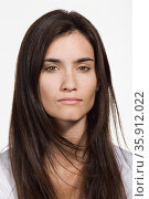 Portrait of young adult Caucasian woman. Стоковое фото, фотограф Shannon Fagan / Ingram Publishing / Фотобанк Лори