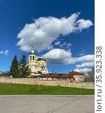 Ильинская церковь, Серпухов. Стоковое фото, фотограф Мария Кылосова / Фотобанк Лори
