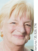 Portrait of a senior woman. Стоковое фото, фотограф Shannon Fagan / Ingram Publishing / Фотобанк Лори
