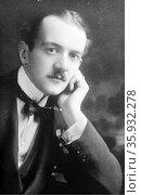 Italian noble the Marquis Max Strozzi of Florence. Редакционное фото, агентство World History Archive / Фотобанк Лори