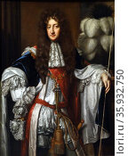 Laurence Hyde, Earl of Rochester (1642-1711). Oil on canvas, about 1685, by Willem Wissing (about 1656-1687) Редакционное фото, агентство World History Archive / Фотобанк Лори