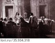 (Paz de Aquisgrán) The Treaty of Aix-la-Chapelle;2 May 1668 in Aachen. Редакционное фото, агентство World History Archive / Фотобанк Лори