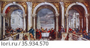 Feast in the House of Levi, 1563, by Paolo Veronese (1528-1588) Редакционное фото, агентство World History Archive / Фотобанк Лори