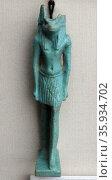 The jackal-headed god Anubis, guardian of tombs. Редакционное фото, агентство World History Archive / Фотобанк Лори
