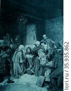 The Last Public Act of King Robert Bruce. Редакционное фото, агентство World History Archive / Фотобанк Лори