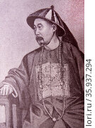 Portrait of Li Hongzhang. Редакционное фото, агентство World History Archive / Фотобанк Лори