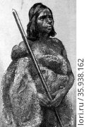 A young native woman. Редакционное фото, агентство World History Archive / Фотобанк Лори