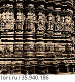 Neelkantheshwar Hindu temple at Udaipur, District, Vidisha, Madhya Pradesh. Редакционное фото, агентство World History Archive / Фотобанк Лори