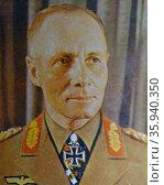 General Erwin Rommel. Редакционное фото, агентство World History Archive / Фотобанк Лори
