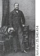 Portrait of Christian August II, Duke of Schleswig-Holstein-Sonderburg-Augustenburg. Редакционное фото, агентство World History Archive / Фотобанк Лори