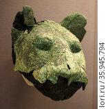 Copper alloy head a lion. Редакционное фото, агентство World History Archive / Фотобанк Лори