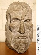 1989, portrait bust of Spanish architect Antoni Gaudi (1852–1926) (2016 год). Редакционное фото, агентство World History Archive / Фотобанк Лори