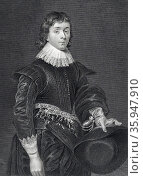 John Hamilton, 1st Marquis of Hamilton (1532-1601); Scottish nobleman (2016 год). Редакционное фото, агентство World History Archive / Фотобанк Лори