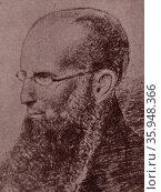 Portrait of Johan Gabriel Carlén (2013 год). Редакционное фото, агентство World History Archive / Фотобанк Лори
