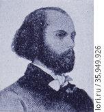 Portrait of Félicien David. Редакционное фото, агентство World History Archive / Фотобанк Лори
