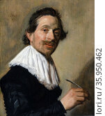 Portrait of Jean de la Chambre at the Age of 33 by Frans Hals. Редакционное фото, агентство World History Archive / Фотобанк Лори