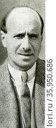 Photographic portrait of Clarence Hatry. Редакционное фото, агентство World History Archive / Фотобанк Лори