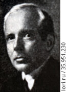 Photographic portrait of Béla Bartók. Редакционное фото, агентство World History Archive / Фотобанк Лори