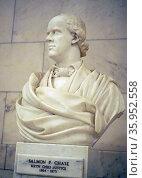 Bust of Salmon P. Chase. Редакционное фото, агентство World History Archive / Фотобанк Лори