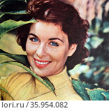 Photograph of Constance Smith. Редакционное фото, агентство World History Archive / Фотобанк Лори