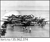 The Battle of Midway in the Pacific. Редакционное фото, агентство World History Archive / Фотобанк Лори