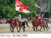 Фестиваль исторической реконструкции (2012 год). Редакционное фото, фотограф Илья Галахов / Фотобанк Лори