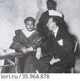 Luis de Oteyza (1883 - 1961). Редакционное фото, агентство World History Archive / Фотобанк Лори