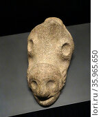 Pointed stone from the Taíno culture. Редакционное фото, агентство World History Archive / Фотобанк Лори