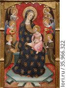 Lady of Angels by Pere Serra. Редакционное фото, агентство World History Archive / Фотобанк Лори