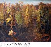 Charles-Francois Daubigny (1817- 1879), La Vigne, c. 1863 Oil on canvas. Редакционное фото, агентство World History Archive / Фотобанк Лори