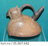 Whistling jar in the form of an owl. Редакционное фото, агентство World History Archive / Фотобанк Лори